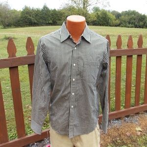 Banana Republic Mens Button Front Shirt Medium